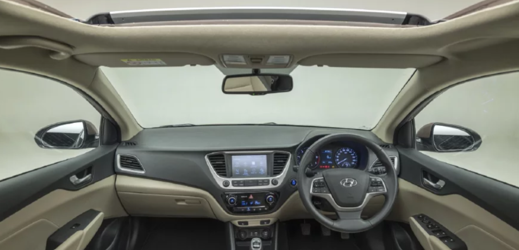 Hyundai Verna Inside